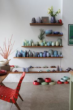 Shade Groupings - pottery glaze (Bison | Sydney)
