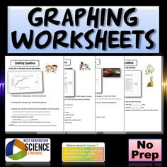 These worksheets are geared for English Language Learners sentence starters, however I've used them with Special Education and mainstream students as well. The worksheets include speed, constant speed, acceleration, slope, linear and non-linear.Or buy my bundle that includes all of my physics products NGSS Physics Resource BundleHere are some of my individual products:STEM Roller Coaster LabNGSS Speed, Time, Distance, Acceleration and Graphing WorksheetsPhysics Speed, Time and Distance…