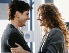 """Dermot Mulroney y Julia Roberts en """"La boda de mi mejor amigo"""", 1997"""