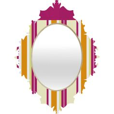 Sorisa Baroque Mirror | DENY Designs Home Accessories #denydesigns #mirror #apartment #home #dorm #office #living #midcentury