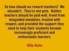 Alfie Kohn and Progressive Education