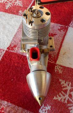 "Vintage Super Tigre G 15 ""Goodyear"" Control Line Racing Model Airplane Engine"