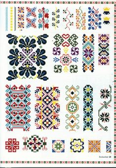 Gallery.ru / Фото #27 - 693 - Yra3raza Embroidery Sampler, Embroidery Patterns Free, Embroidery Art, Cross Stitch Embroidery, Embroidery Designs, Cross Stitch Geometric, Modern Cross Stitch Patterns, Cross Stitch Designs, Cross Stitch Cards