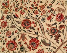 TAI Gallery/Textile Arts: Chintz Palampore, Coromandel Coast