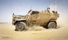 https://flic.kr/p/dcviPF | Foxhound Light Protected Patrol Vehicle in Afghanistan | A Foxhound Light Protected Patrol Vehicle is put through its paces at Camp Bastion, Afghanistan.  Foxhound is at the cutting edge of protected patrol vehicle technology, providing unprecedented levels of blast protection for its size and weight. Featuring blast survivability close to that of a Mastiff - and just a little bigger than the Snatch Land Rover it replaces – the Foxhound is ideally suited for…