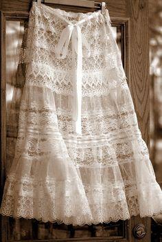 Бохо, винтаж, шебби: юбки и кружевной бал. Часть 1 - Ярмарка Мастеров - ручная работа, handmade