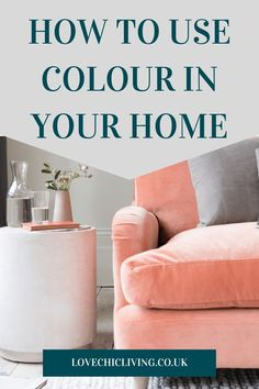 Colourful home decor ideas for a bright, modern, bohemian home. Whether you want a pop of colour, some neutrals, pastels or vibrant shades, these designs will help you create a vintage, cozy space.   #lovechicliving #colourfulhome #homedecor Kitchen Colour Schemes, Room Color Schemes, Room Colors, House Colors, Home Decor Trends, Home Decor Inspiration, Decor Ideas, Curtains With Blinds, Modern Bohemian