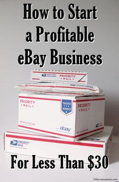 After running a successful eBay business for over 2 years, I have learned what works. I'm sharing this in-depth guide with you for free, so you can learn how to do start your own profitable eBay business for little up front cost.