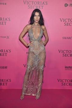 Bella Hadid portant des bijoux Messika