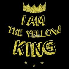 I AM THE YELLOW KING - True Detective