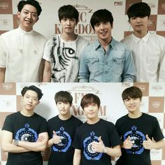 2015.05.03 / CNBLUE at backstage / FNC KINGDOM IN SEOUL