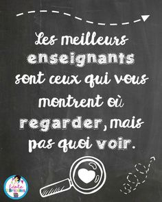 """The """"Poor words of the board"""" to inspire you, make you laugh or reflect . Positive Attitude, Positive Thoughts, Best Quotes, Love Quotes, Teaching Posters, Quote Citation, French Quotes, Learn French, Good Thoughts"""