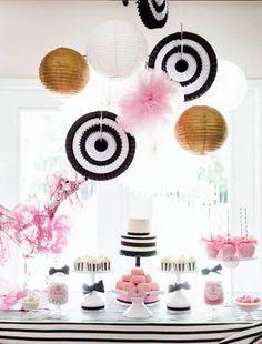 Pink Parisian Poodle Birthday Party via Kara's Party Ideas