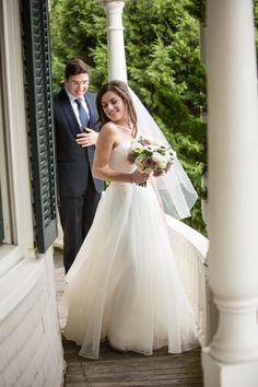 wedding dress; photo: Melissa Robotti Photography