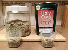 Use this recipe to make your own version of Holy Crap Cereal for 45% less. :)