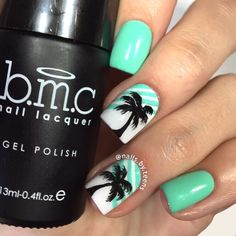 nail art designs braid fashion makeup 40 Summer Nails Art Ideas For A Fresh And Sunny Vibe Beach Nail Designs, Cute Summer Nail Designs, Cute Summer Nails, Nail Art Designs, Nails Design, Summer Beach Nails, Tree Designs, Beach Toe Nails, Beach Nail Art