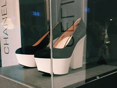 MAKK fashion exhibition Modeausstellung LOOK! | Designer Phoebe Philo for Céline SS2012 leather and plastic