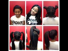 vixen sew-in weave braiding tutorial. I will show you how to do vixen sew-in weave. - YouTube