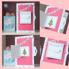 DIY Karten basteln via Print & Cut mit dem Schneideplotter / Vorlage für Klappkarte