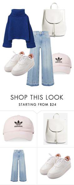 """outfit"" by imnotwhatyouwant on Polyvore featuring moda, adidas, Everlane, Étoile Isabel Marant e MANGO"