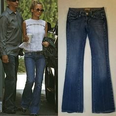 Paige Premium Denim Laurel Canyon Jeans Sz 24 Awesome Paige jeans. Lightly loved with light distress and a litte bit of wear on the bottom of hem. Not as bad as Nicoles! No stains or rips. Sorry no trades. Paige Jeans Jeans Boot Cut