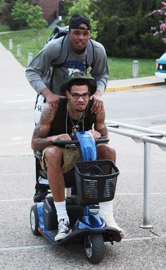 my boys #BBN (this is EJ Floreal and Willie Cauley-Stein)