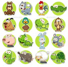 Find Vector illustration of Animals set Cartoon stock vectors and royalty free photos in HD. Explore millions of stock photos, images, illustrations, and vectors in the Shutterstock creative collection.