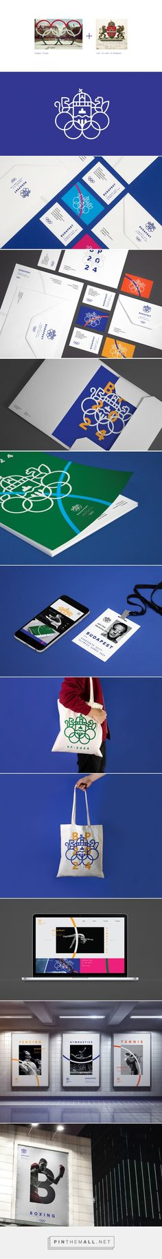 Budapest - Candidate City Olympic Games 2024 on Behance - created via…