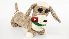 Sock Dog - ProfessorPincushion | Professor Pincushion