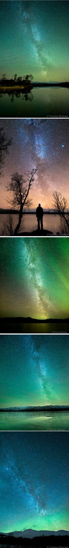 Stars and Northern Lights... by Tommy Eliassen