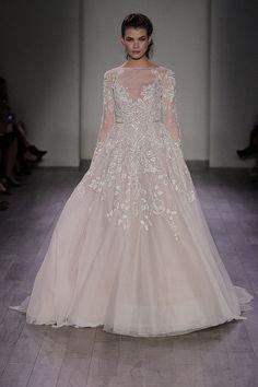 150 Wedding Dresses From Bridal Fashion Week Winter 2016 | POPSUGAR Fashion UK
