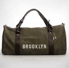 Blue Marlin #Brooklyn duffle bag, $150