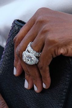 find this pin and more on diamonds galore - Wendy Williams Wedding Ring