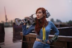 Fallout 3 - Vault dweller by atomic-cocktail on DeviantArt Fallout Theme, Fallout Props, Fallout Art, Fallout Cosplay, Group Costumes, Cosplay Costumes, Cosplay Ideas, Vault Dweller, Vault Tec