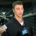 Former UNC National Player-of-the-Year Tyler Hansbrough was a visitor to Bartow Arena.    http://www.uabsports.com/sports/m-baskbl/spec-rel/061112aab.html#