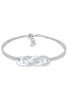 Elli Armband »Infinity Liebe Swarovski® Kristalle 925 Silber« Entdecke  Schmuck in Silber für fa3ae2e6f6