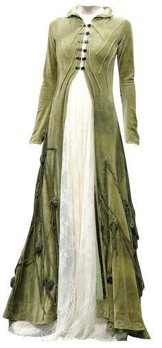 Split front dress with sheer under dress | High-waist, casual, dress-like jacket?
