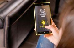 Yellow Nokia Lumia #Phone #Nokia #mobile # woman # freelance # freelancer # home #