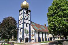 Hundertwasser church
