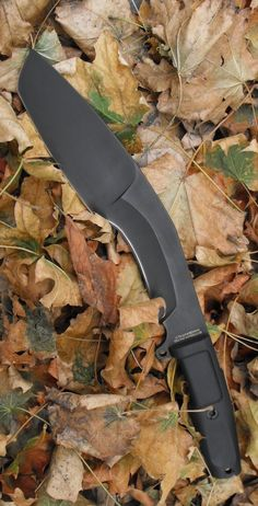 Extrema Ratio Small Kukri, 9.5in, Black Cobalt Steel Blade Knife, Black Forprene Handle #fixedknife @aegisgears