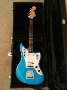 Fender Jaguar CIJ MIJ Guitar And Hard Case