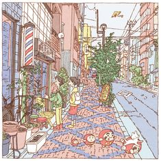Tokyo 100 views(31〜35) on Behance
