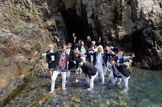 Foto Seventeen di Pemotretan Promosi Album Debut '17 Carat'