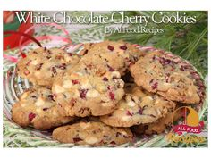 These White Chocolate Cherry Macadamia Cookies have been a hit wherever and to whomever I've taken them. These are also the perfect cookies to make for the Holidays. You can use either dried cherries or cranberries. White Chocolate Cherry Cookies Serves: About 2 dozen Ingredients ½ cup butter, softened ½ cup packed brown sugar ½ cup white sugar 1 egg 1 teaspoon vanilla extract 1½ cups all-purpose flour ½ teaspoon baking soda ¼ teaspoon salt ¾ cup white chocolate chips ½ cup chopped…