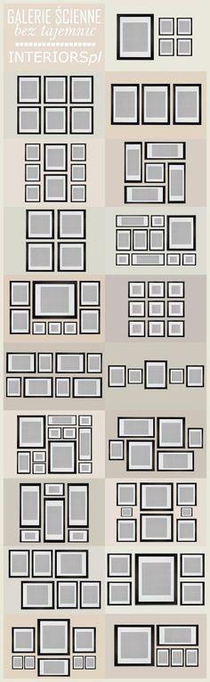 Third Floor Design Studio: Gallery Wall Templates