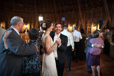 round barn farm wedding reception in red wing minnesota | photo: Studio 306