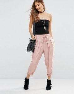Free People Slouchy Harem Trousers