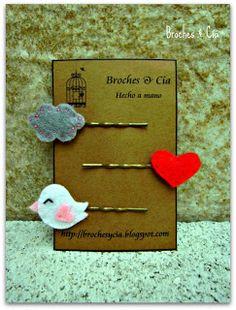 Broches y Cía.: accesorios pelo