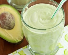 Green Smoothies to Lose Weight - Avocado Coconut Smoothie Shake - Click Pic for 42 Healthy Fruit Smoothie Recipes