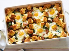 Italian Sausage and Egg Bake Recipe : Giada De Laurentiis : Food Network - FoodNetwork.com
